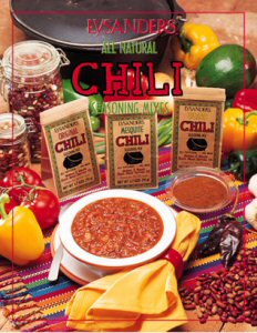 Lysander Chili Seasoning Mixes